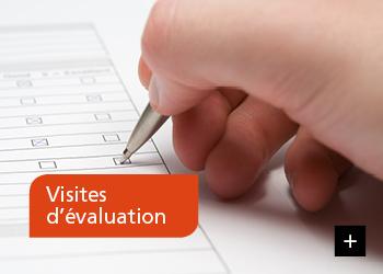 Visites d'évaluation