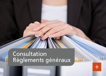 Consultation sur les Règlements généraux – Phase II