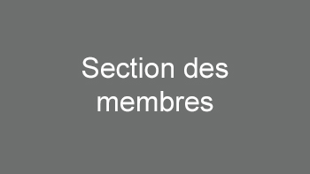 Section des membres