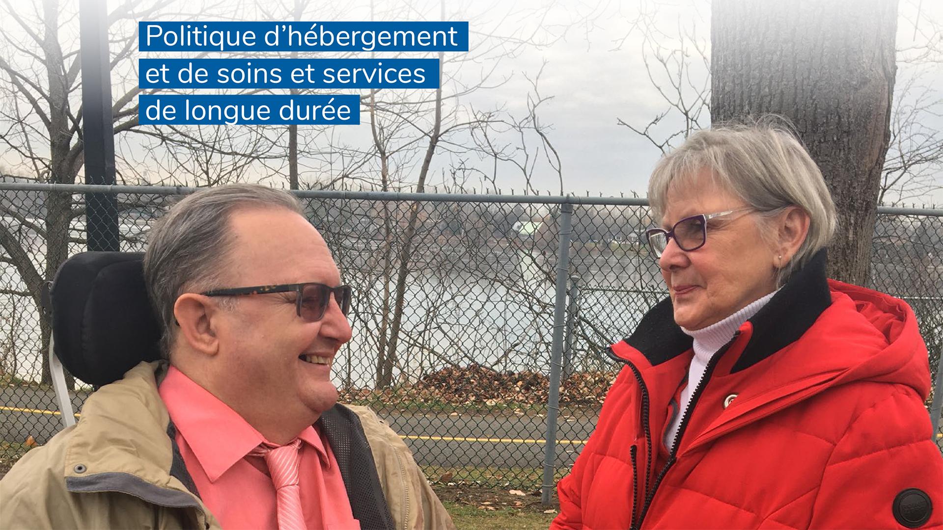 Les usagers accueillent favorablement la politique d'hébergement et de soins et services de longue durée annoncée par le gouvernement du Québec