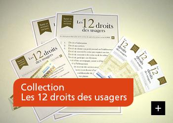 Collection Les 12 droits des usagers
