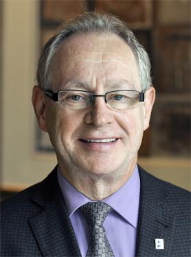 Claude Ménard, président du Regroupement provincial des comités des usagers (RPCU)