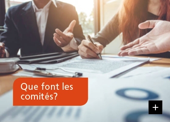 Que font les comités?