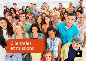 Clientèles et missions
