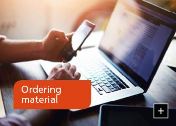 Ordering material