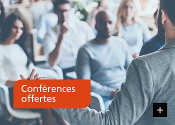Conférences offertes