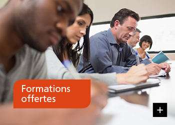 Formations offertes