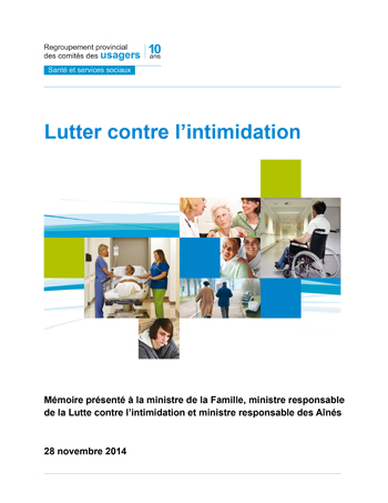 Lutter contre l'intimidation