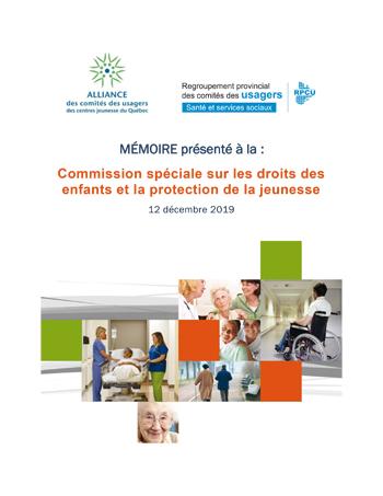 Commission spéciale sur les droits des enfants et la protection de la jeunesse