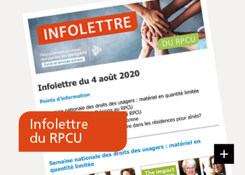 Infolettre du RPCU