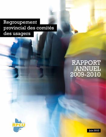 Rapport d'activités 2009-2010