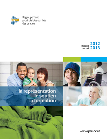 Rapport d'activités 2012-2013