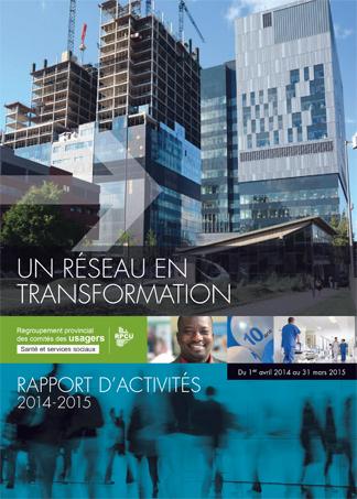 Rapport d'activités 2014-2015