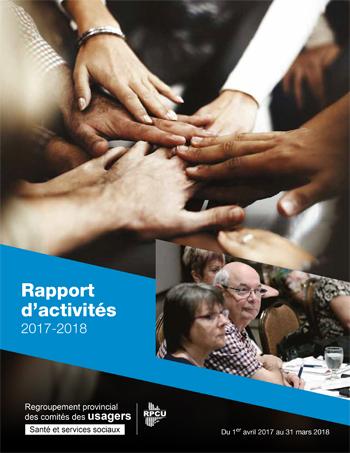 Rapport d'activités 2017-2018