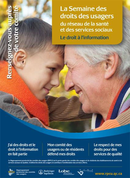 Semaine des droits des usagers 2011 – Le droit à l'information