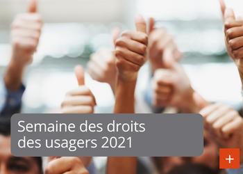 Semaine des droits des usagers 2021